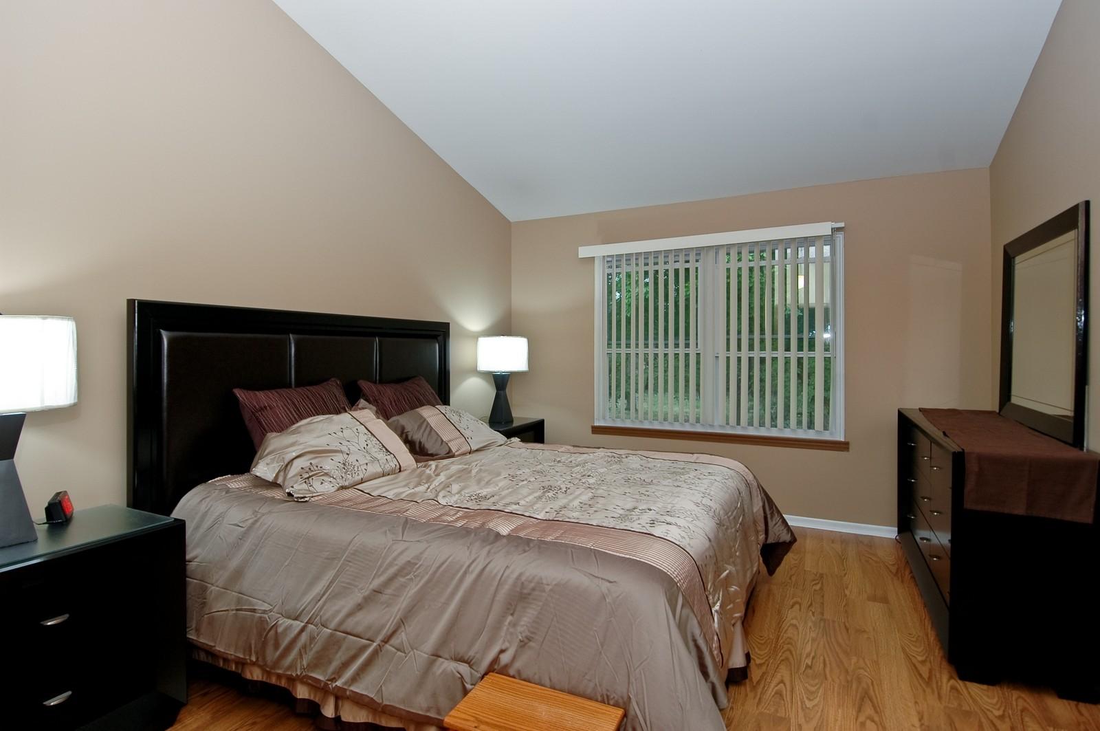 Real Estate Photography - 4029 Hale Ln, Island Lake, IL, 60042 - Master Bedroom
