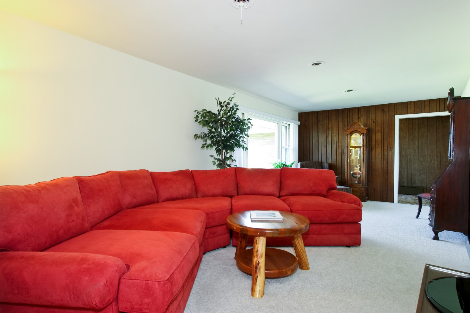 Real Estate Photography - 7431 S Roberts Rd, Bridgeview, IL, 60455 - Living Room