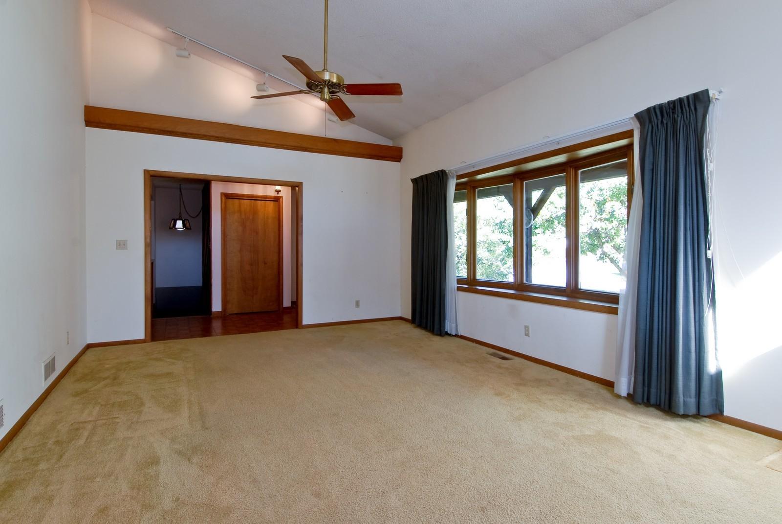 Real Estate Photography - 625 Konen Ave, Aurora, IL, 60505 - Living Room