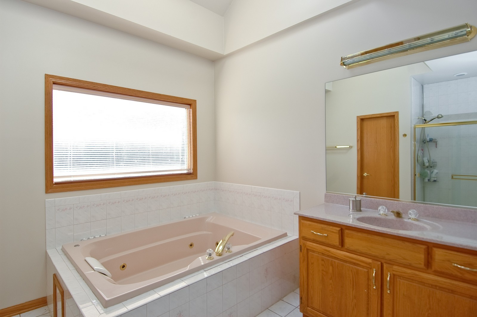 Real Estate Photography - 7N598 Whirlaway Dr, St Charles, IL, 60175 - Master Bathroom