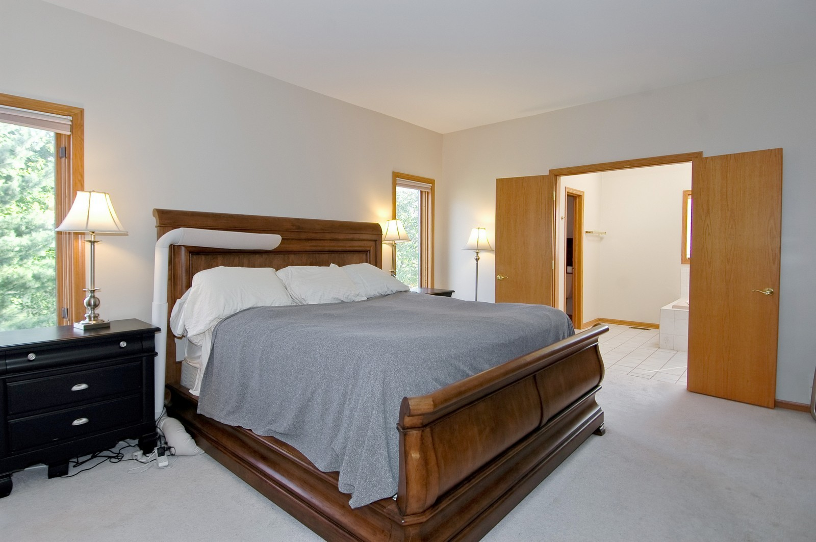 Real Estate Photography - 7N598 Whirlaway Dr, St Charles, IL, 60175 - Master Bedroom