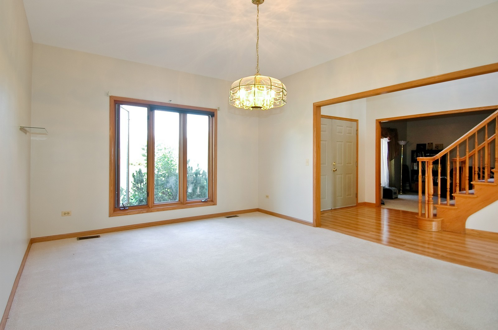 Real Estate Photography - 7N598 Whirlaway Dr, St Charles, IL, 60175 - Foyer/Dining Room