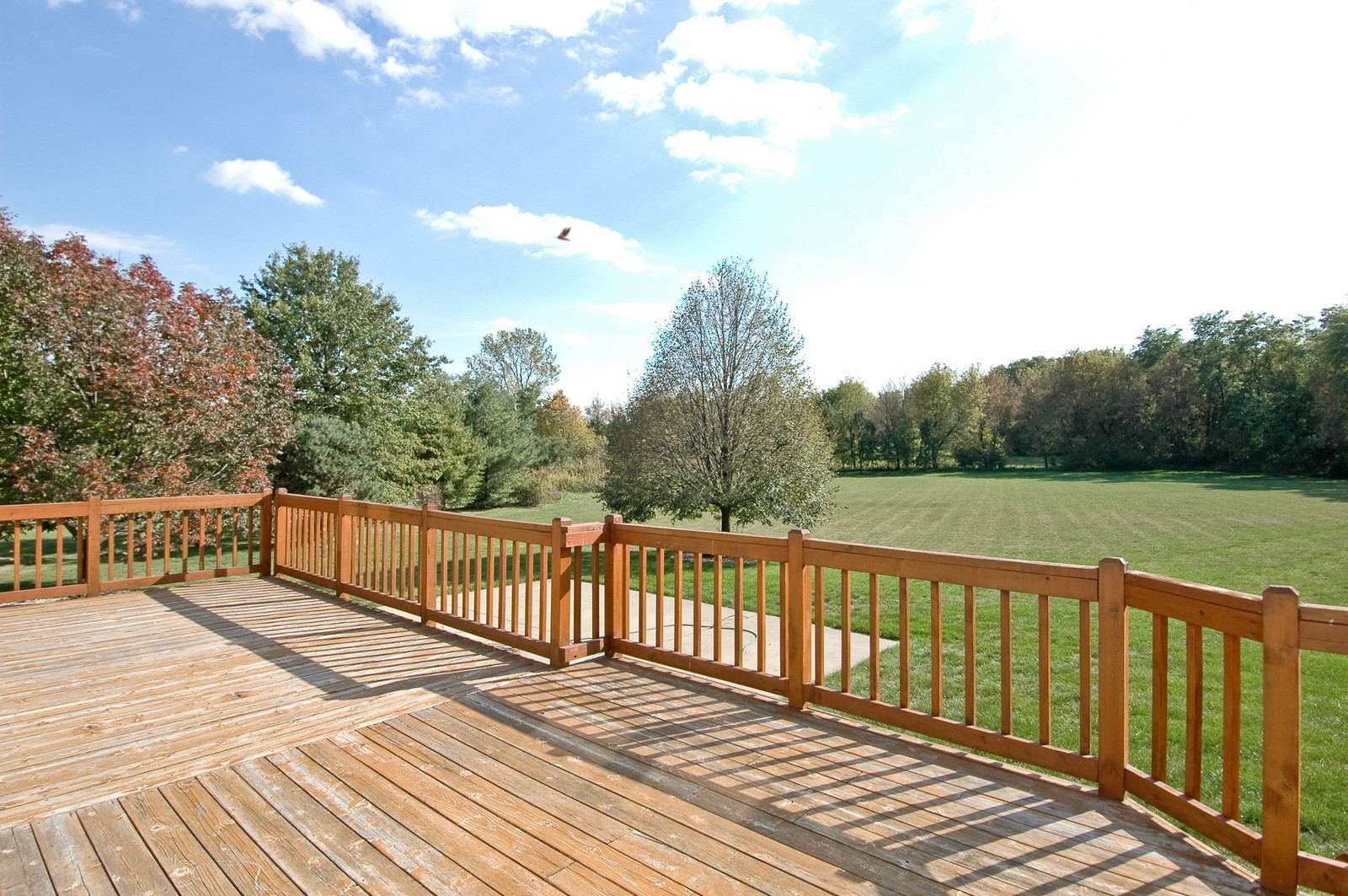 Real Estate Photography - 7N598 Whirlaway Dr, St Charles, IL, 60175 - Deck