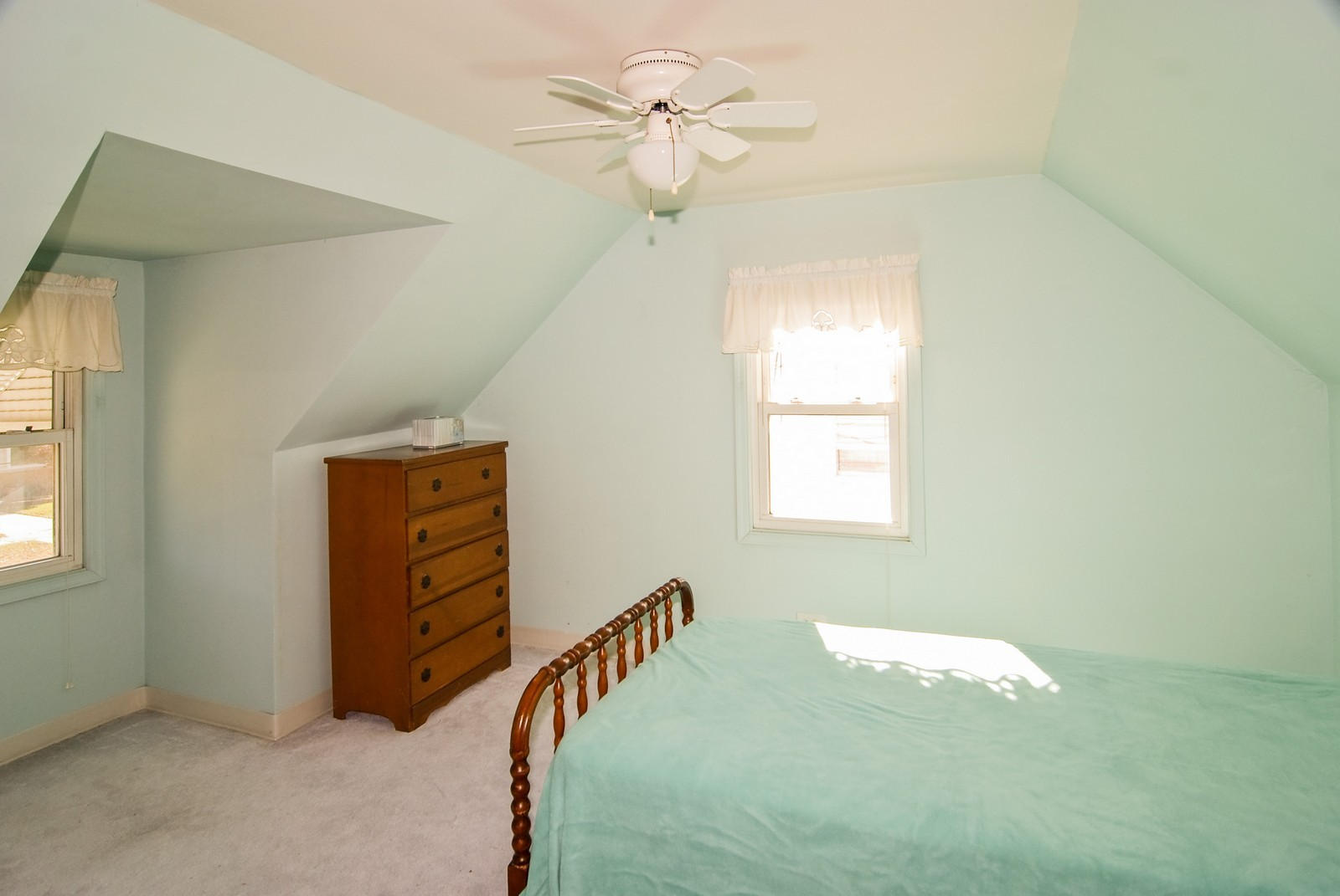 Real Estate Photography - 1526 Hillside Ave, Berkeley, IL, 60163 - 3rd Bedroom