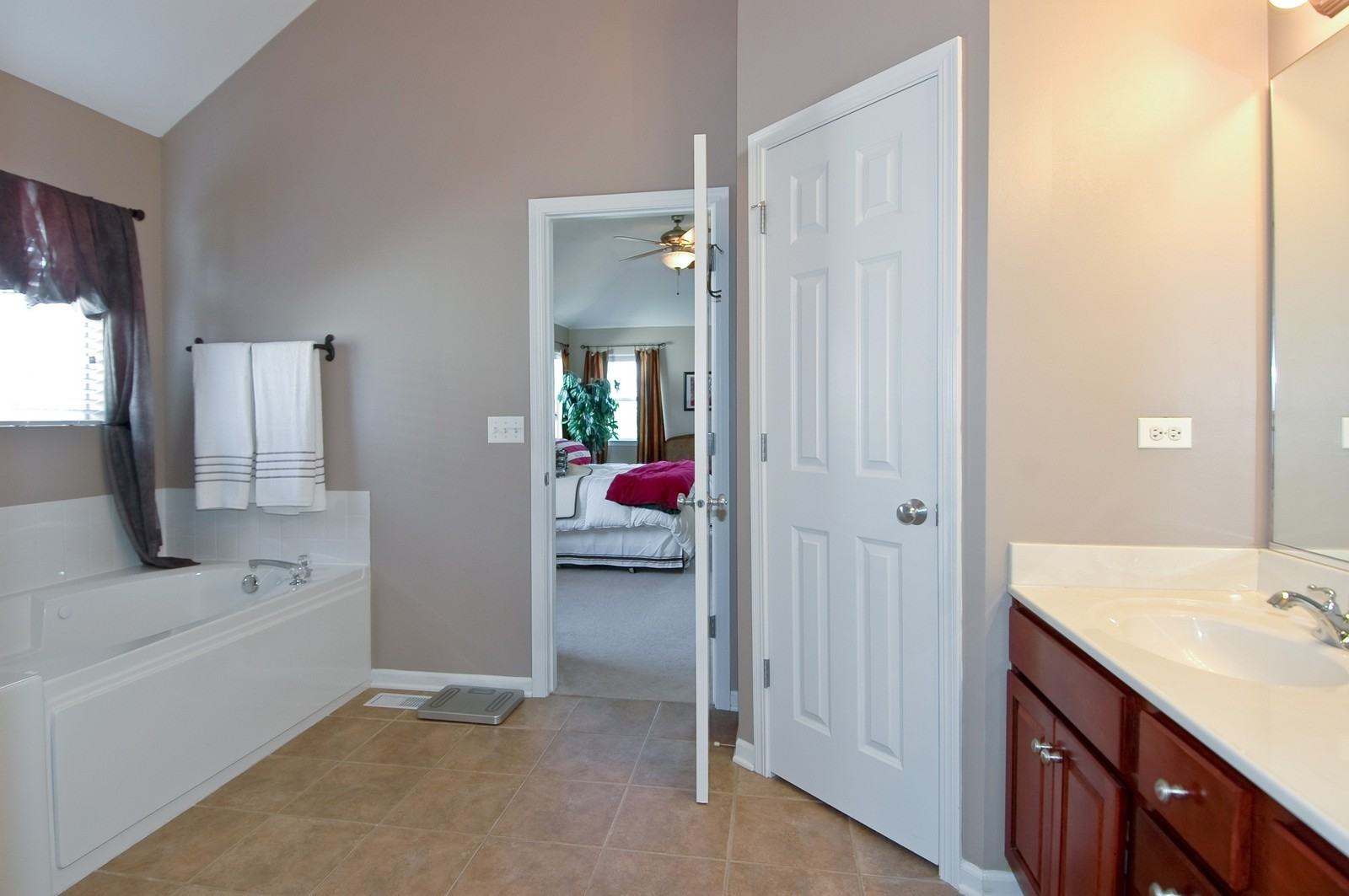Real Estate Photography - 835 Chasewood Dr, South Elgin, IL, 60177 - Master Bathroom