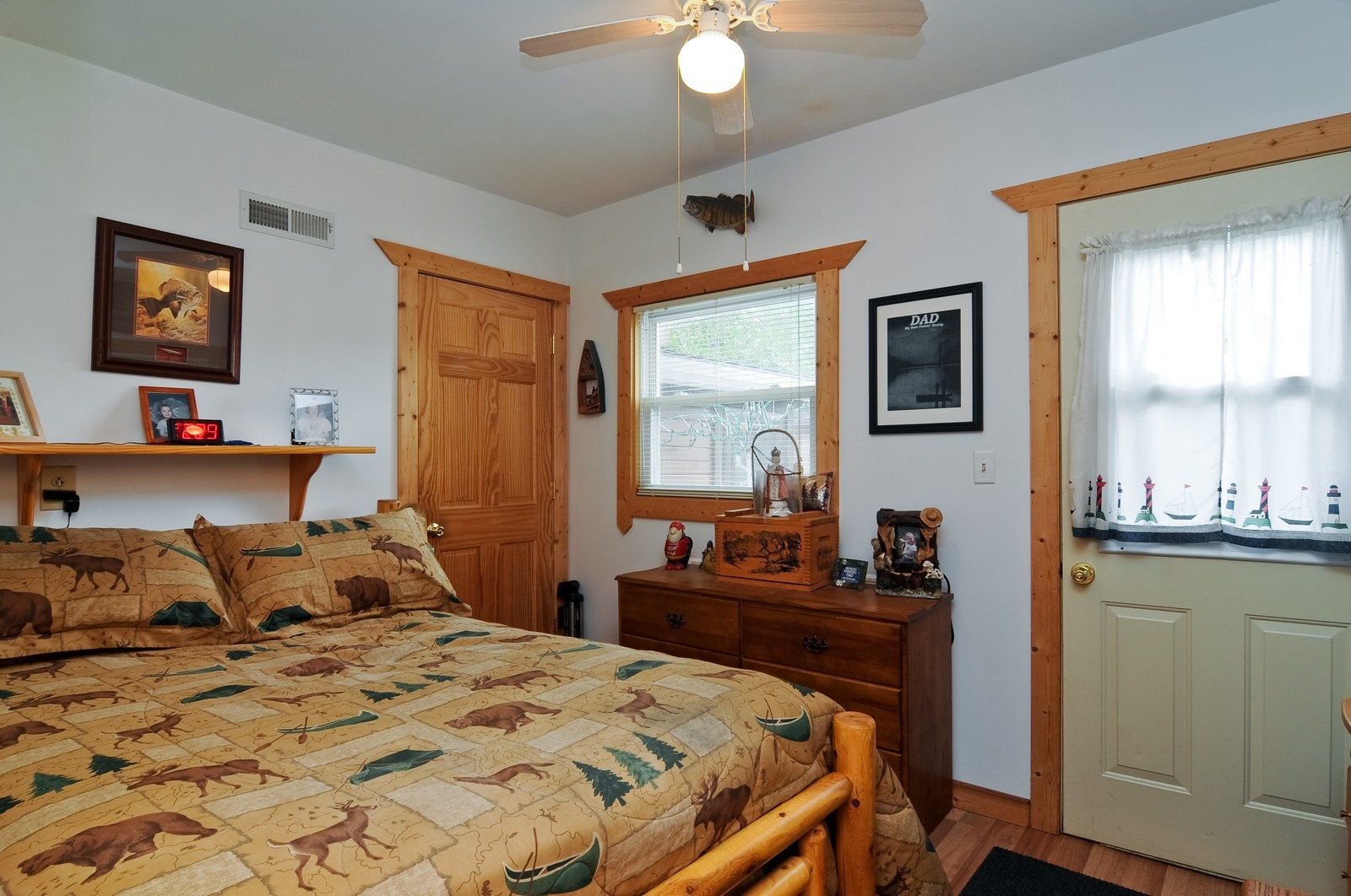 Real Estate Photography - 415 Kings Rd, Fox Lake, IL, 60020 - Master Bedroom