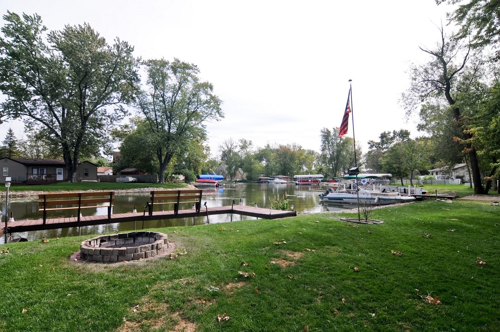 Real Estate Photography - 415 Kings Rd, Fox Lake, IL, 60020 - Lake View