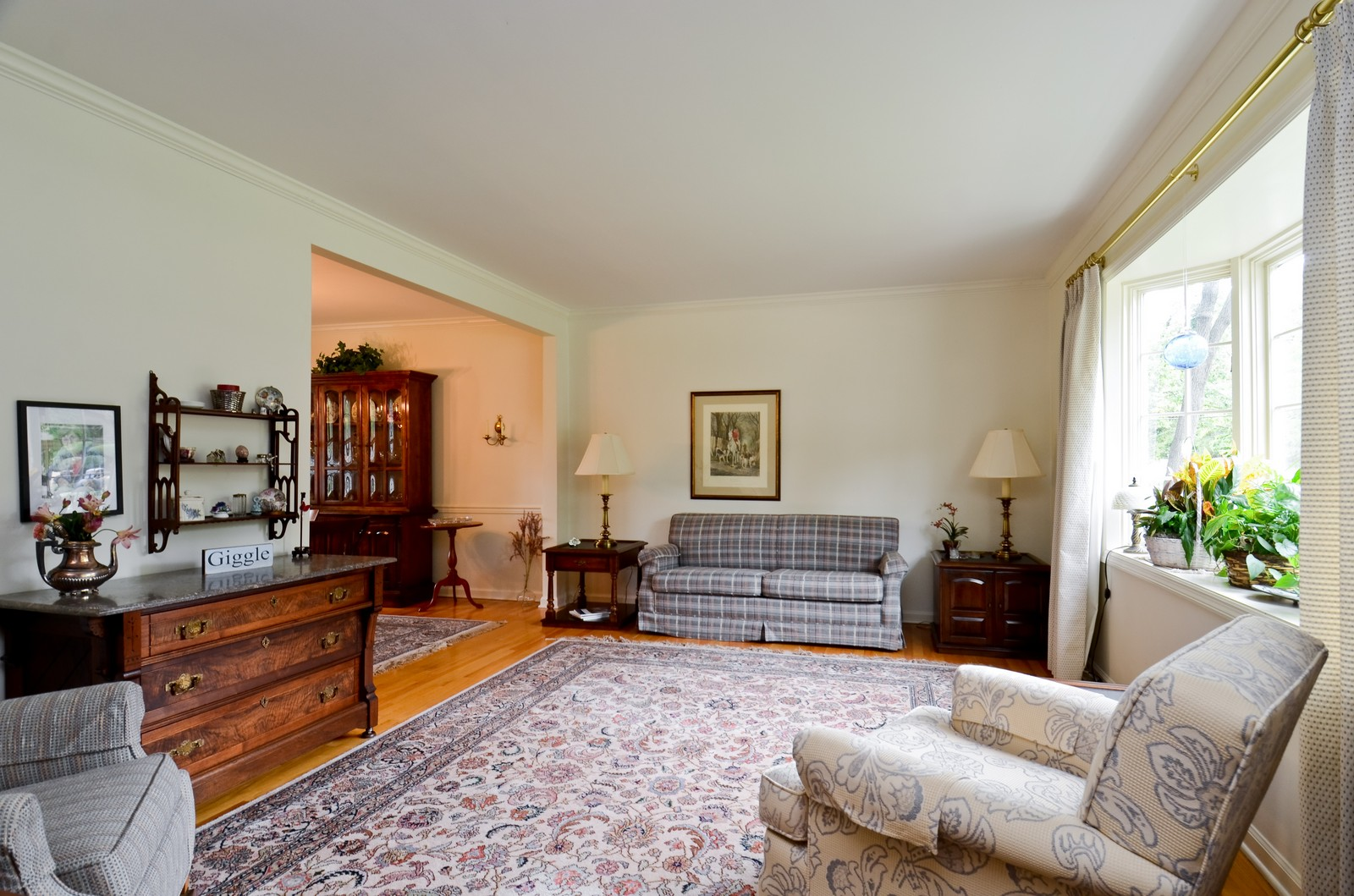 Real Estate Photography - 1101 35th St, Downers Grove, IL, 60515 - Living Room
