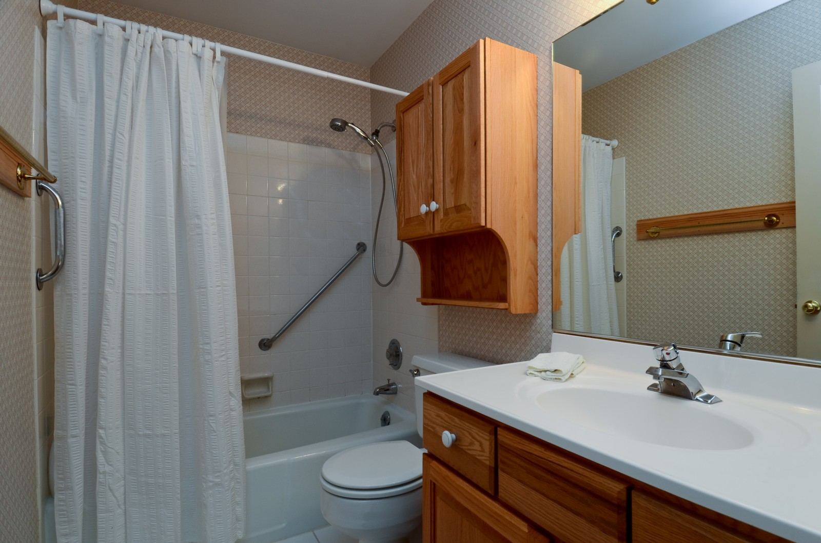 Real Estate Photography - 1101 35th St, Downers Grove, IL, 60515 - Master Bathroom
