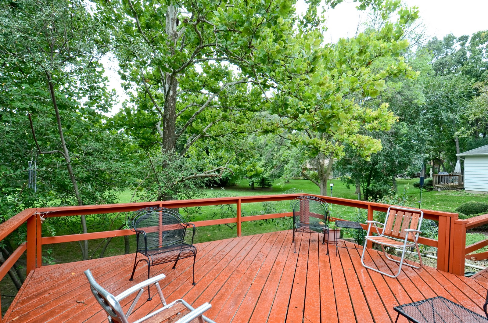 Real Estate Photography - 1101 35th St, Downers Grove, IL, 60515 - Deck