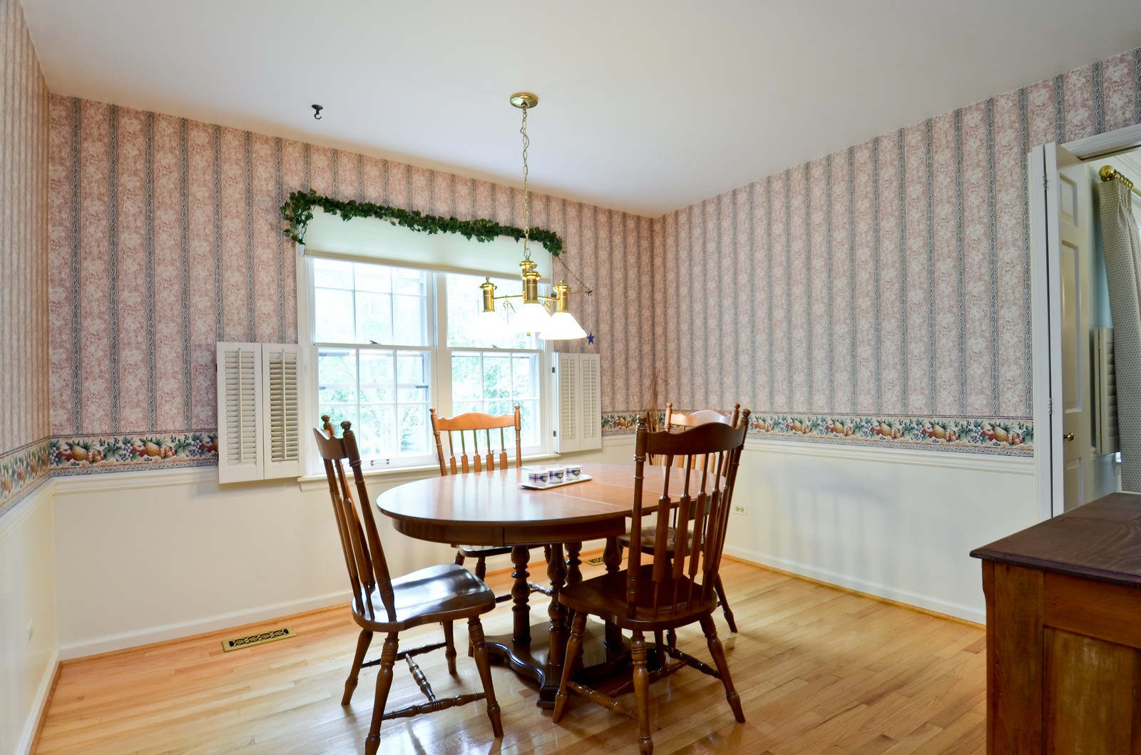 Real Estate Photography - 1101 35th St, Downers Grove, IL, 60515 - Breakfast Nook