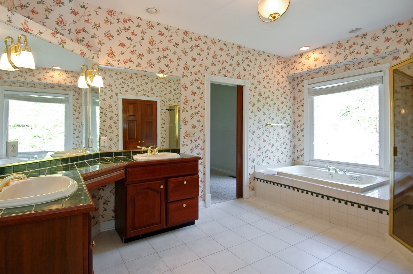 Real Estate Photography - 644 Oakland Dr, Dekalb, IL, 60115 - Master Bathroom