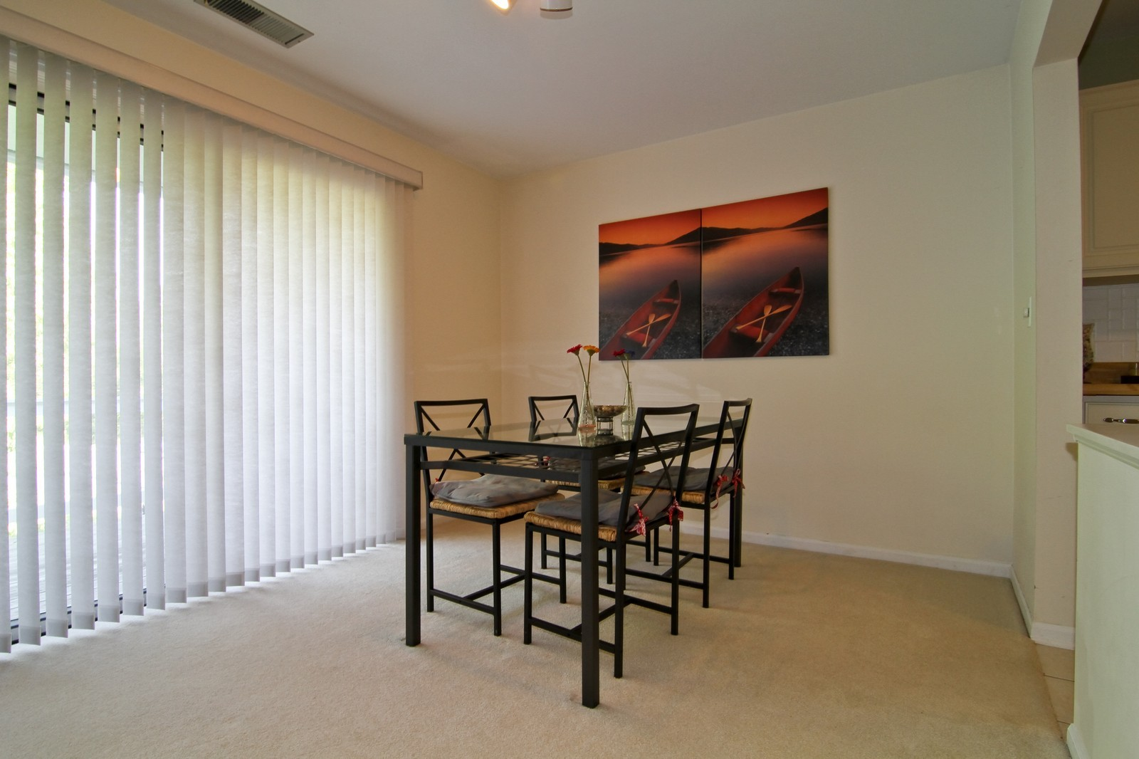 Real Estate Photography - 23 Glencoe Ct, Unit 202-B, Naperville, IL, 60565 - Dining Room