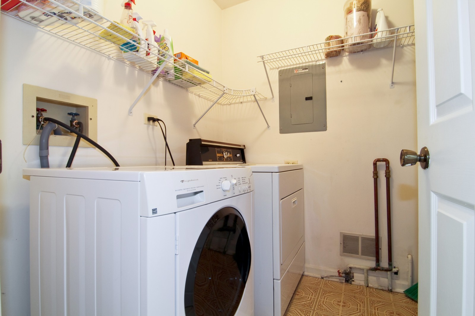 Real Estate Photography - 23 Glencoe Ct, Unit 202-B, Naperville, IL, 60565 - Laundry Room