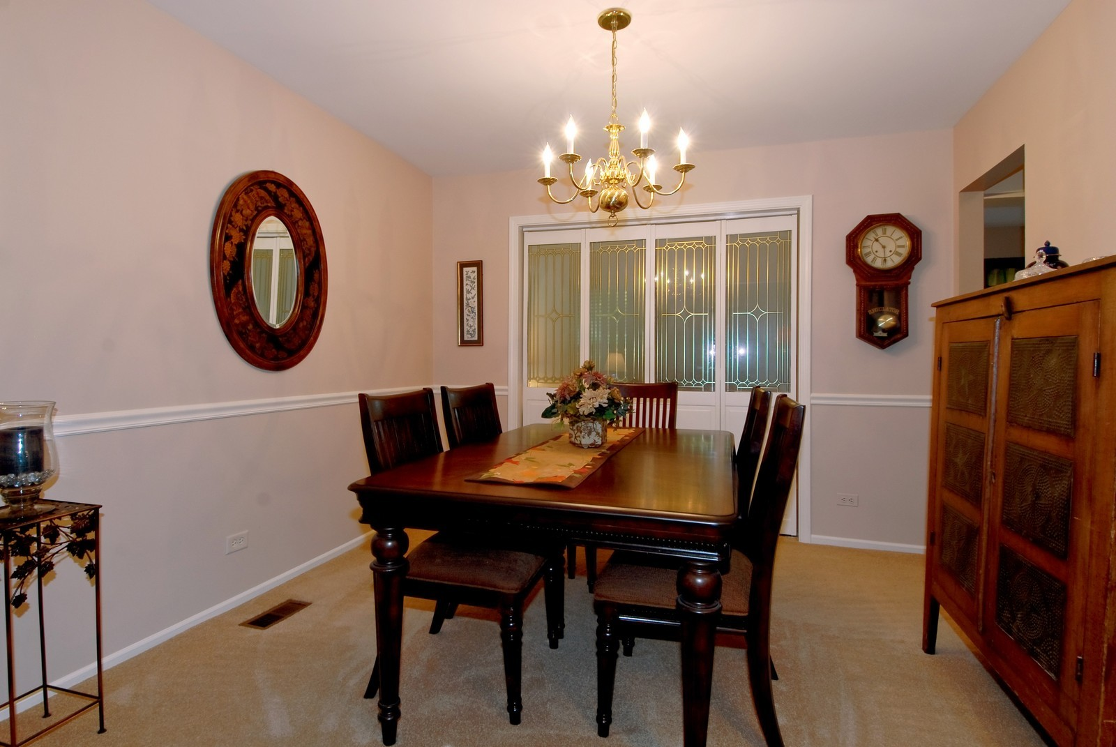 Real Estate Photography - 55 White Oak Cir, St Charles, IL, 60174 - Dining Room