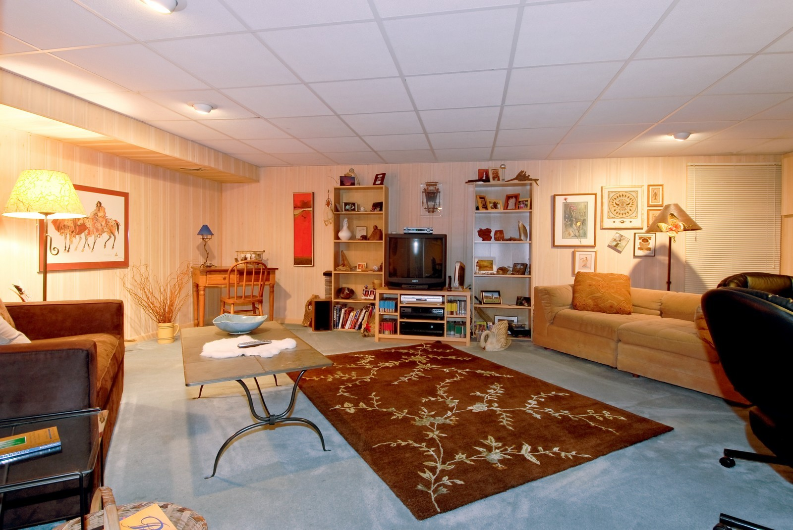 Real Estate Photography - 55 White Oak Cir, St Charles, IL, 60174 - Basement
