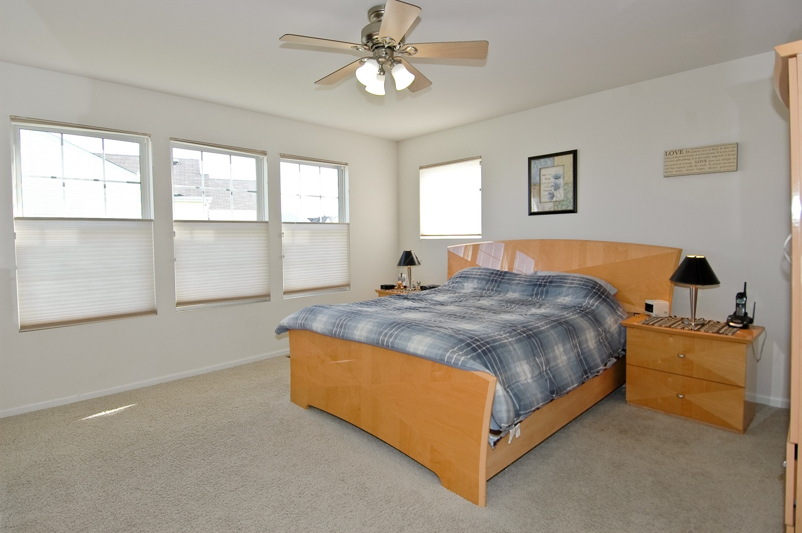 Real Estate Photography - 1872 Yasgur Dr, Woodstock, IL, 60098 - Master Bedroom