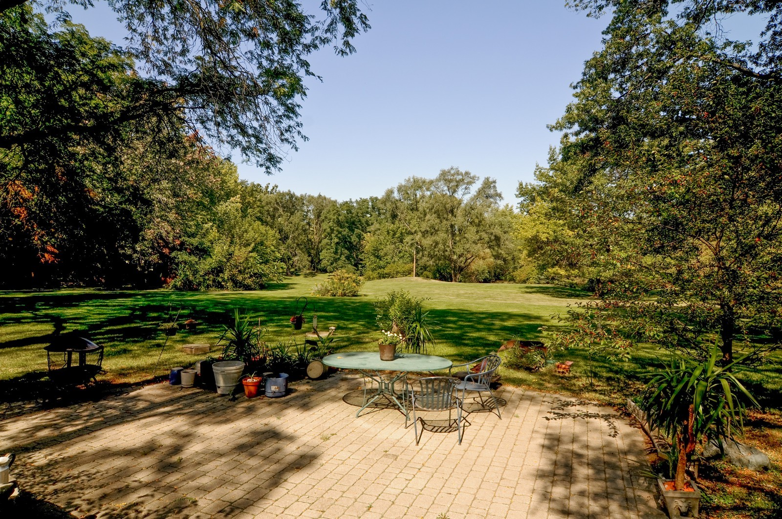 Real Estate Photography - 3148 Cuba Rd, Long Grove, IL, 60047 - Back Yard