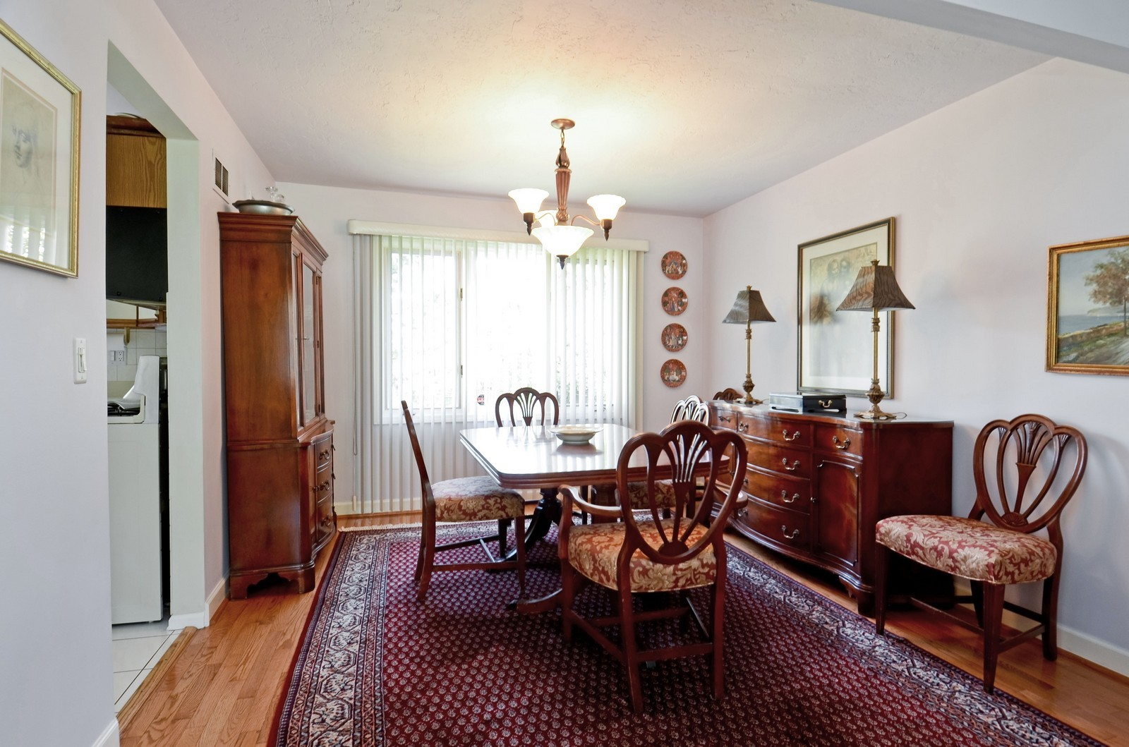 Real Estate Photography - 367 S Edgewood, Wood Dale, IL, 60191 - Dining Room