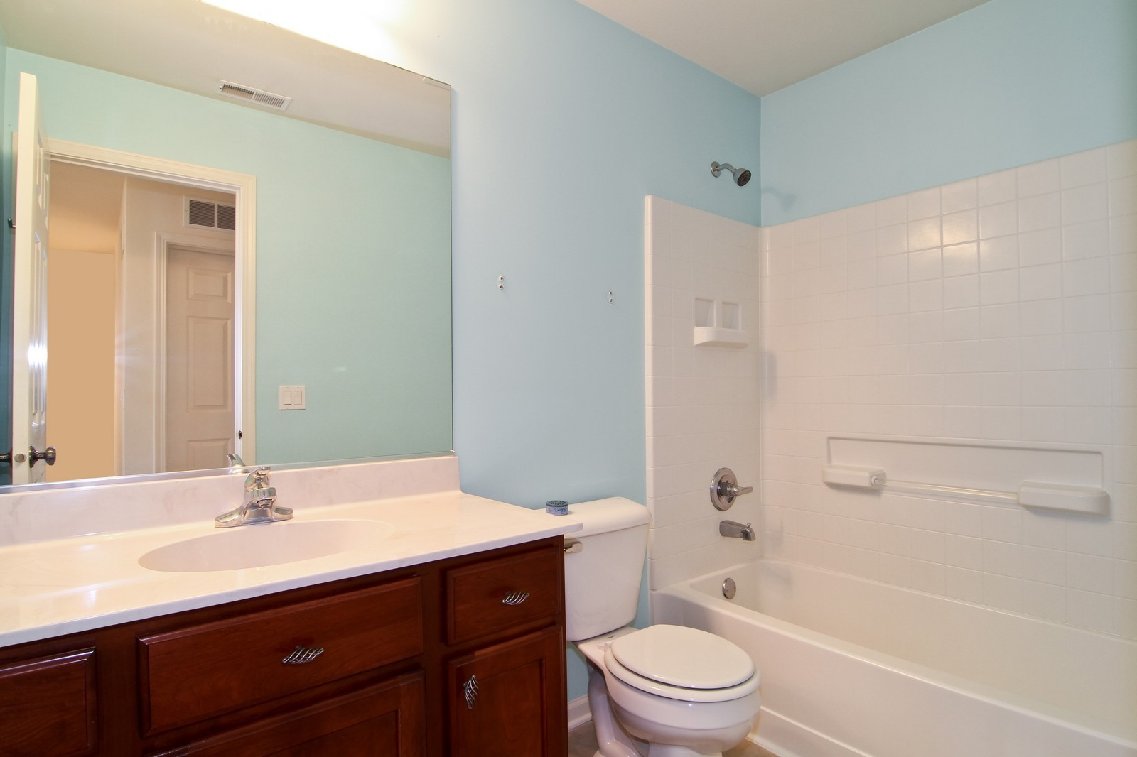 Real Estate Photography - 34W573 W Roosevelt Ave, Unit C, Saint Charles, IL, 60174 - Bathroom