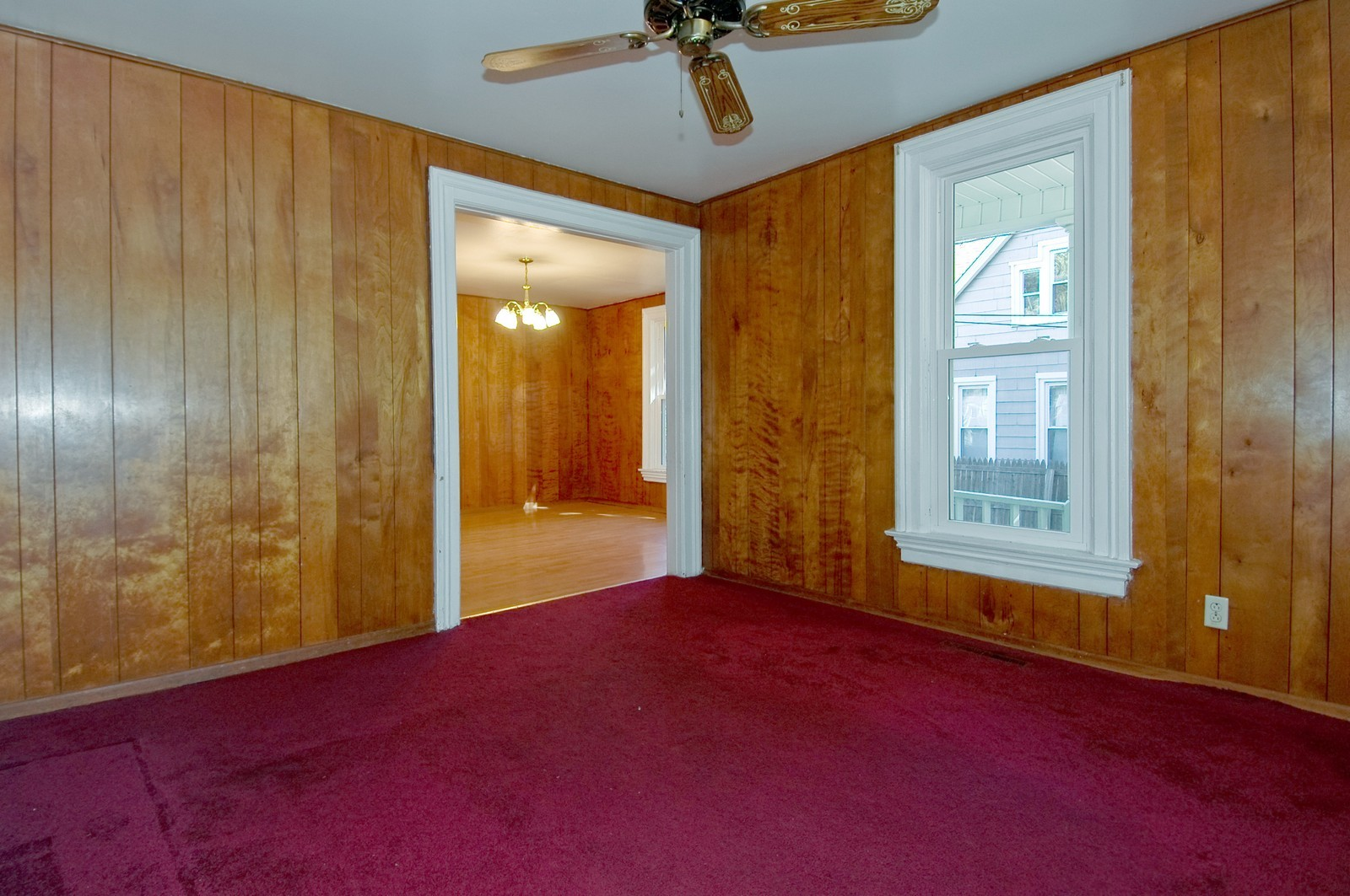 Real Estate Photography - 440 Addison St, Elgin, IL, 60120 - Living Room / Dining Room