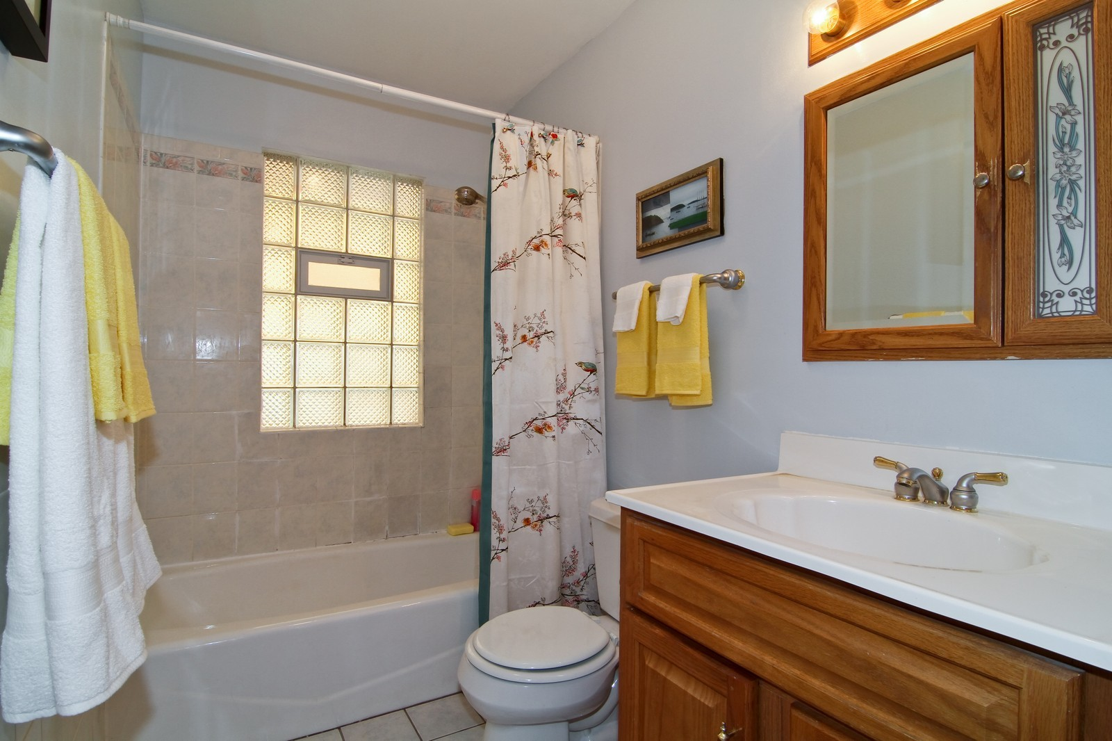 Real Estate Photography - 105 S Piece Ave, Wheaton, IL, 60187 - Bathroom