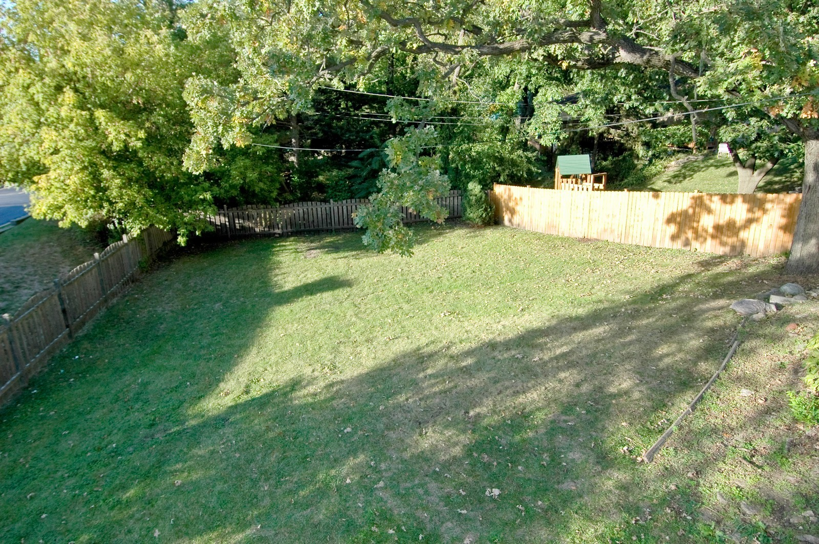 Real Estate Photography - 507 Oak Dr, East Dundee, IL, 60118 - Back Yard