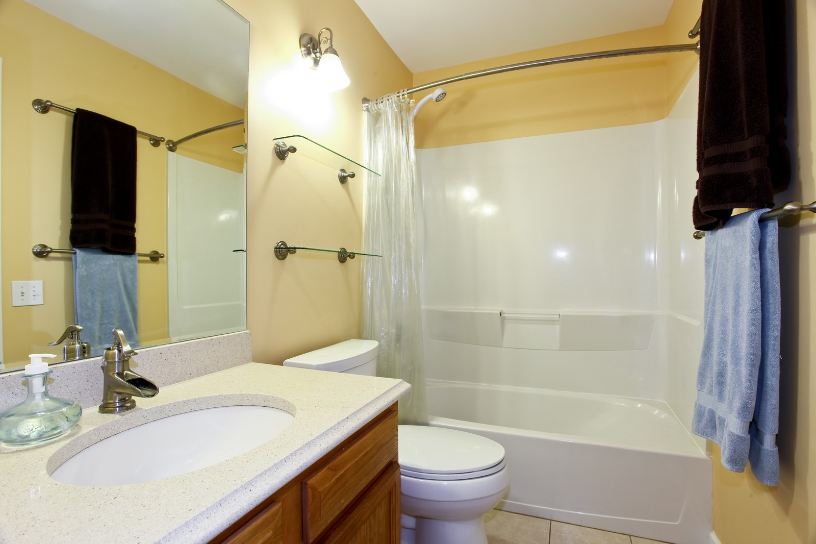 Real Estate Photography - 111 Oakton Dr, Lombard, IL, 60148 - Master Bathroom