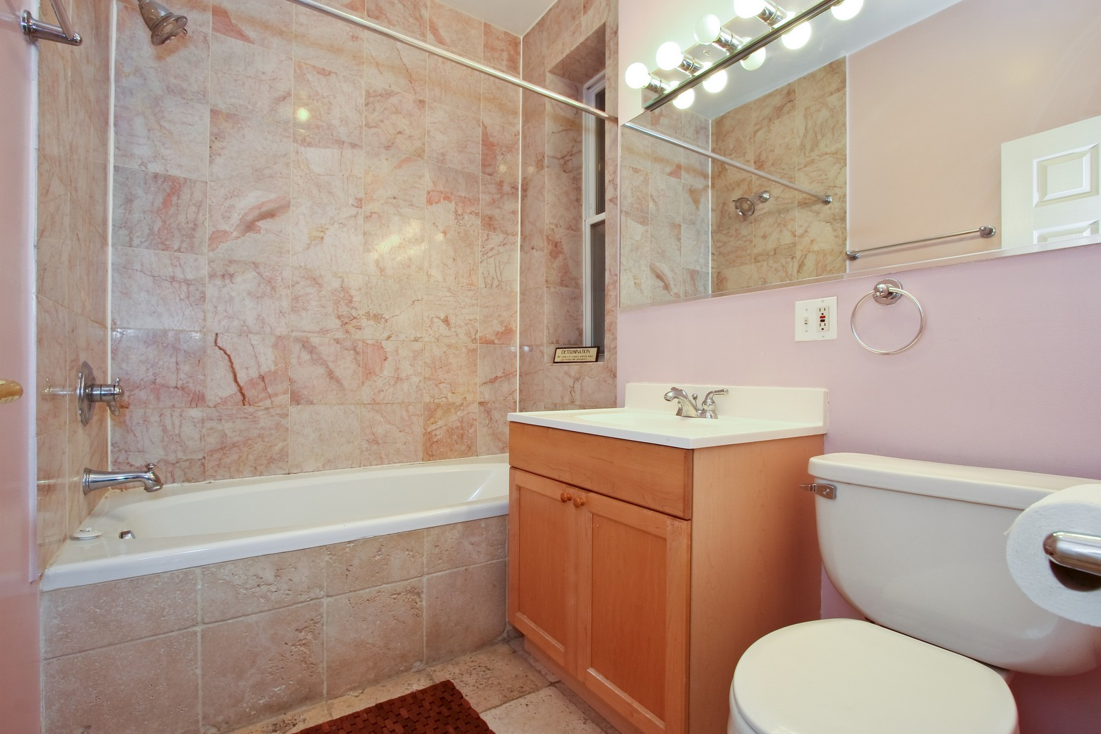 Real Estate Photography - 6415 S Minerva Ave, Unit 2NW, Chicago, IL, 60637 - Master Bathroom