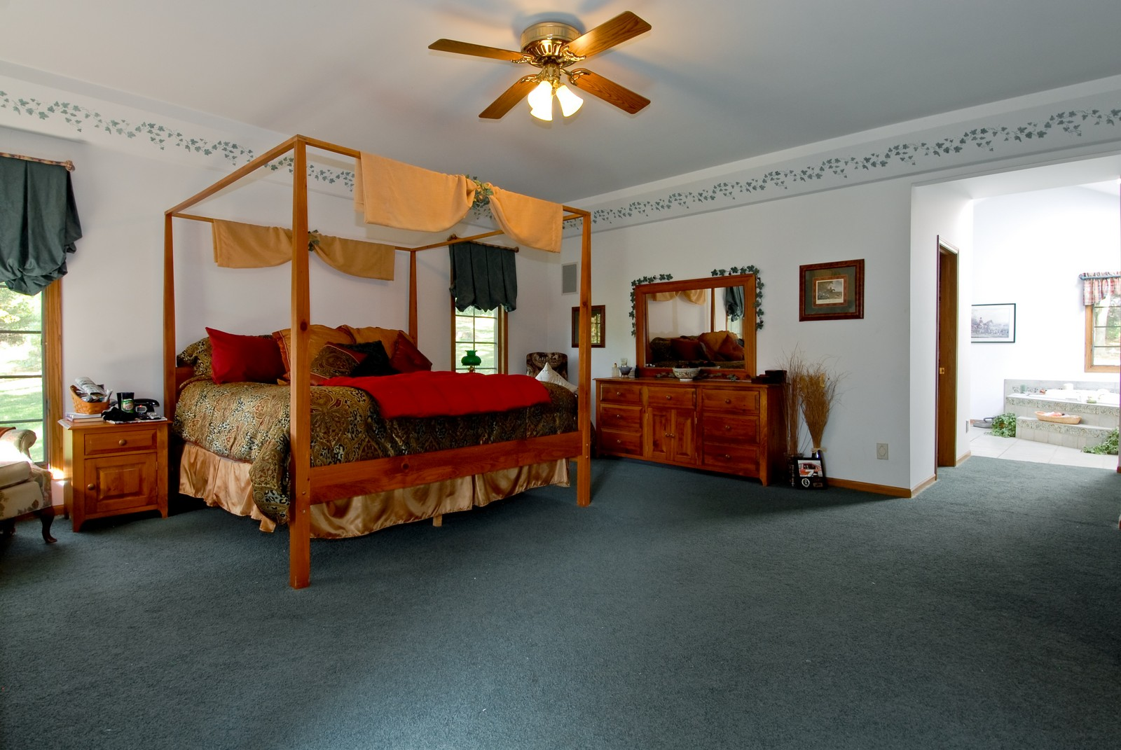 Real Estate Photography - 38W660 Mallard Lake Rd, St Charles, IL, 60175 - Master Bedroom