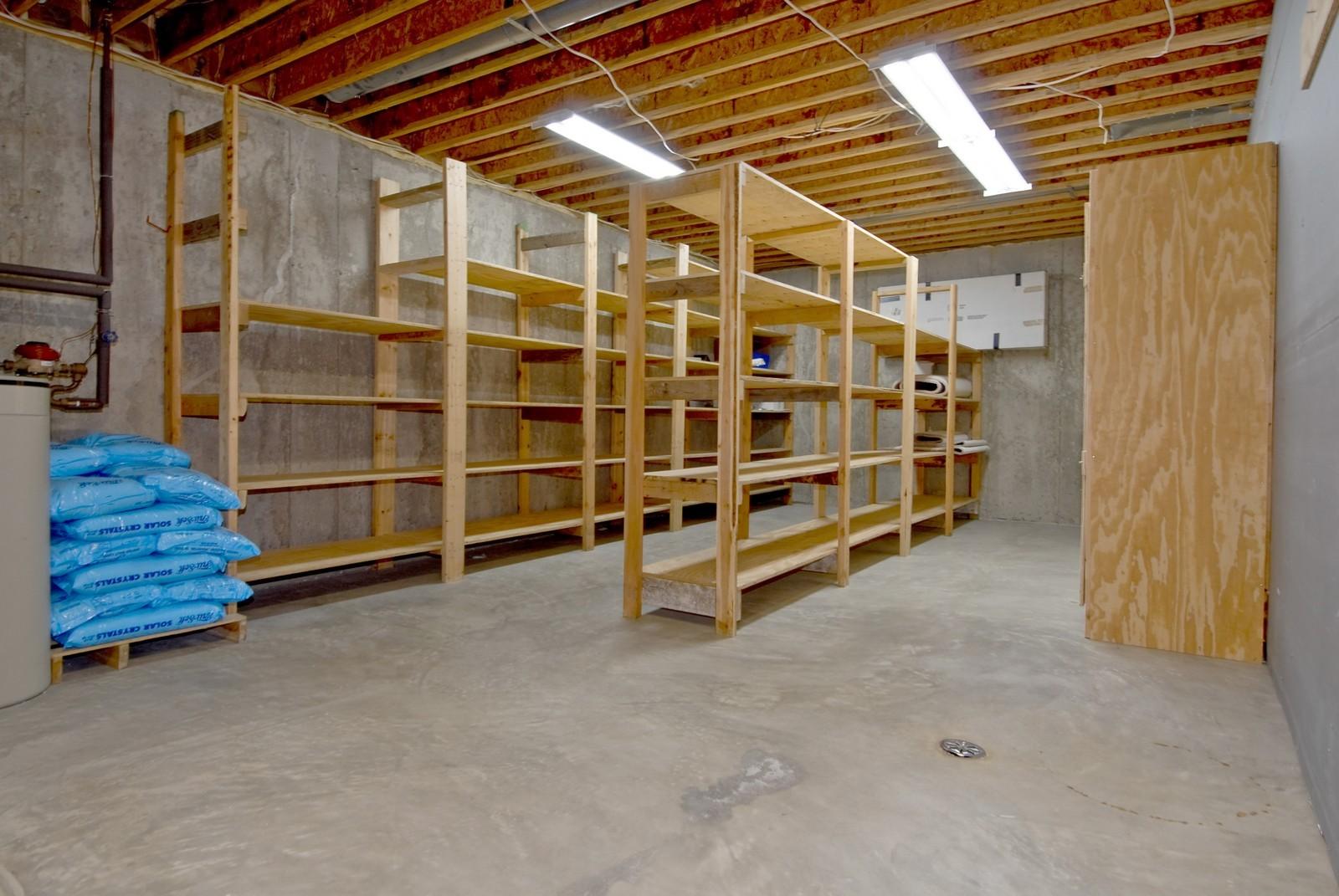 Real Estate Photography - 3104 Pendleton Ct, St Charles, IL, 60175 - Basement Storage