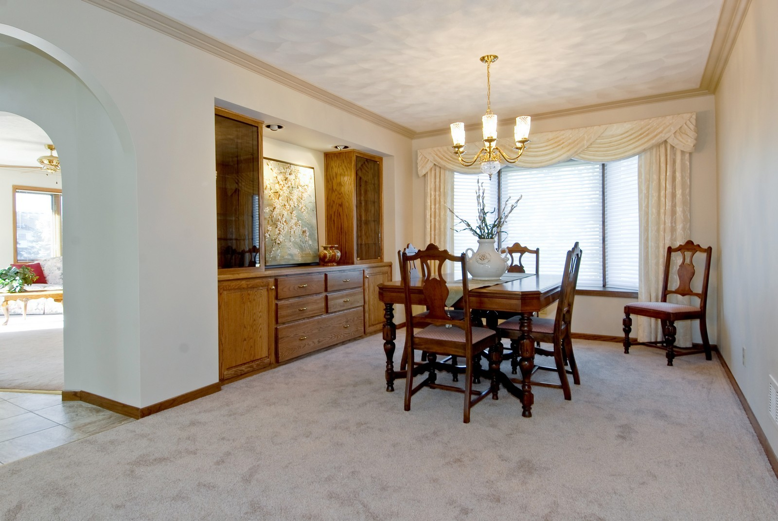 Real Estate Photography - 3104 Pendleton Ct, St Charles, IL, 60175 - Dining Room