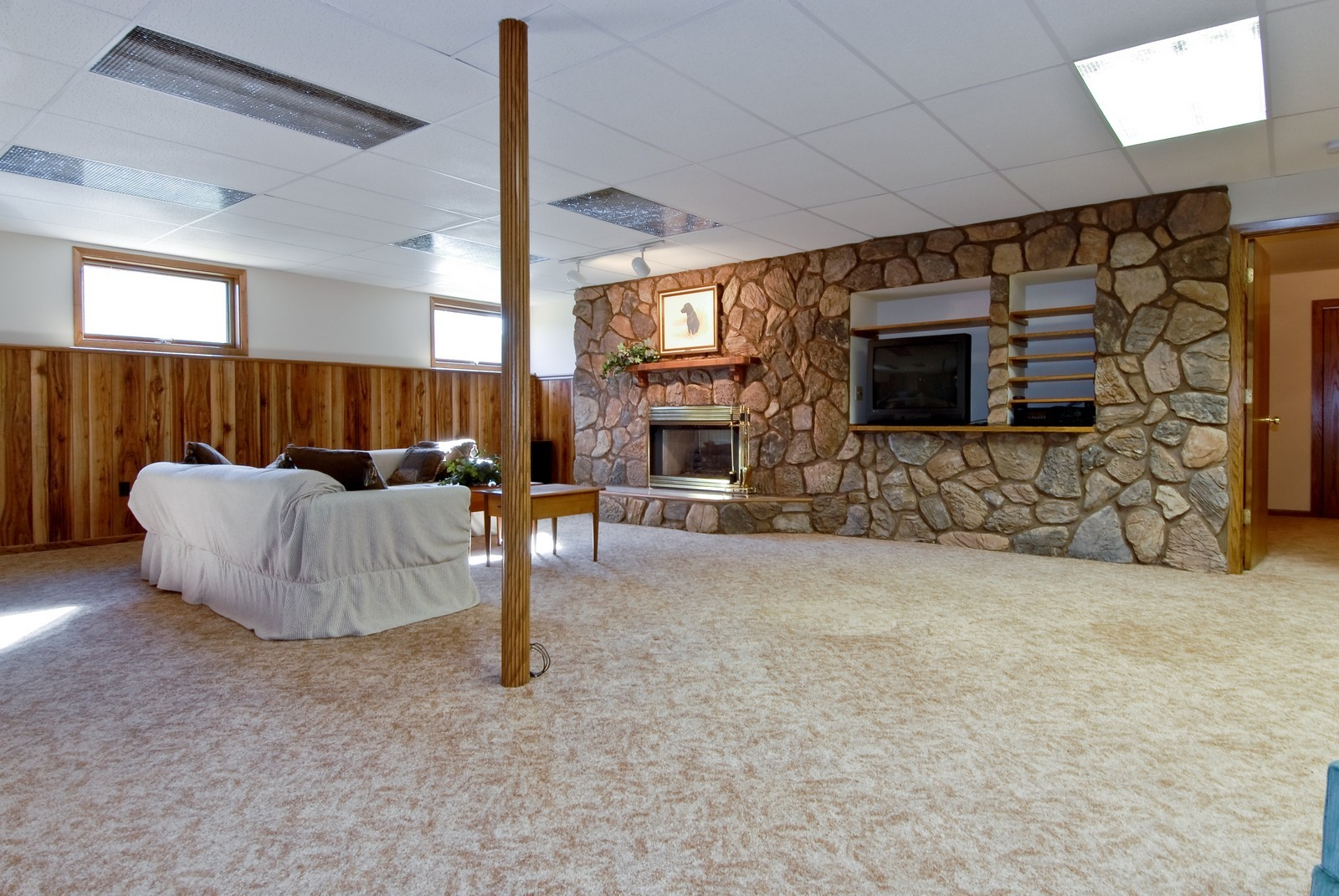Real Estate Photography - 3104 Pendleton Ct, St Charles, IL, 60175 - Recreation Room