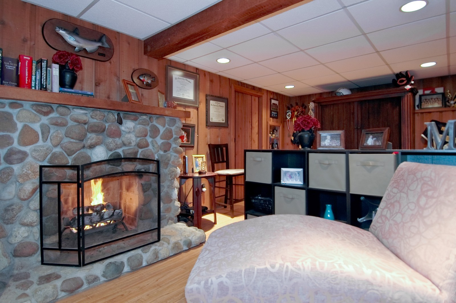 Real Estate Photography - 1138 Getzelman Ter, Algonquin, IL, 60102 - Family Room