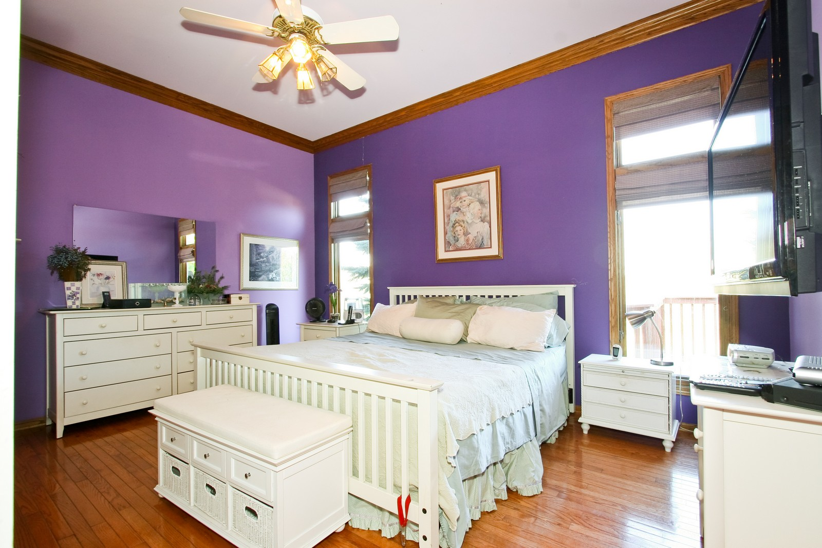 Real Estate Photography - 7 N Bay Rd, Palos Heights, IL, 60463 - 2nd Bedroom