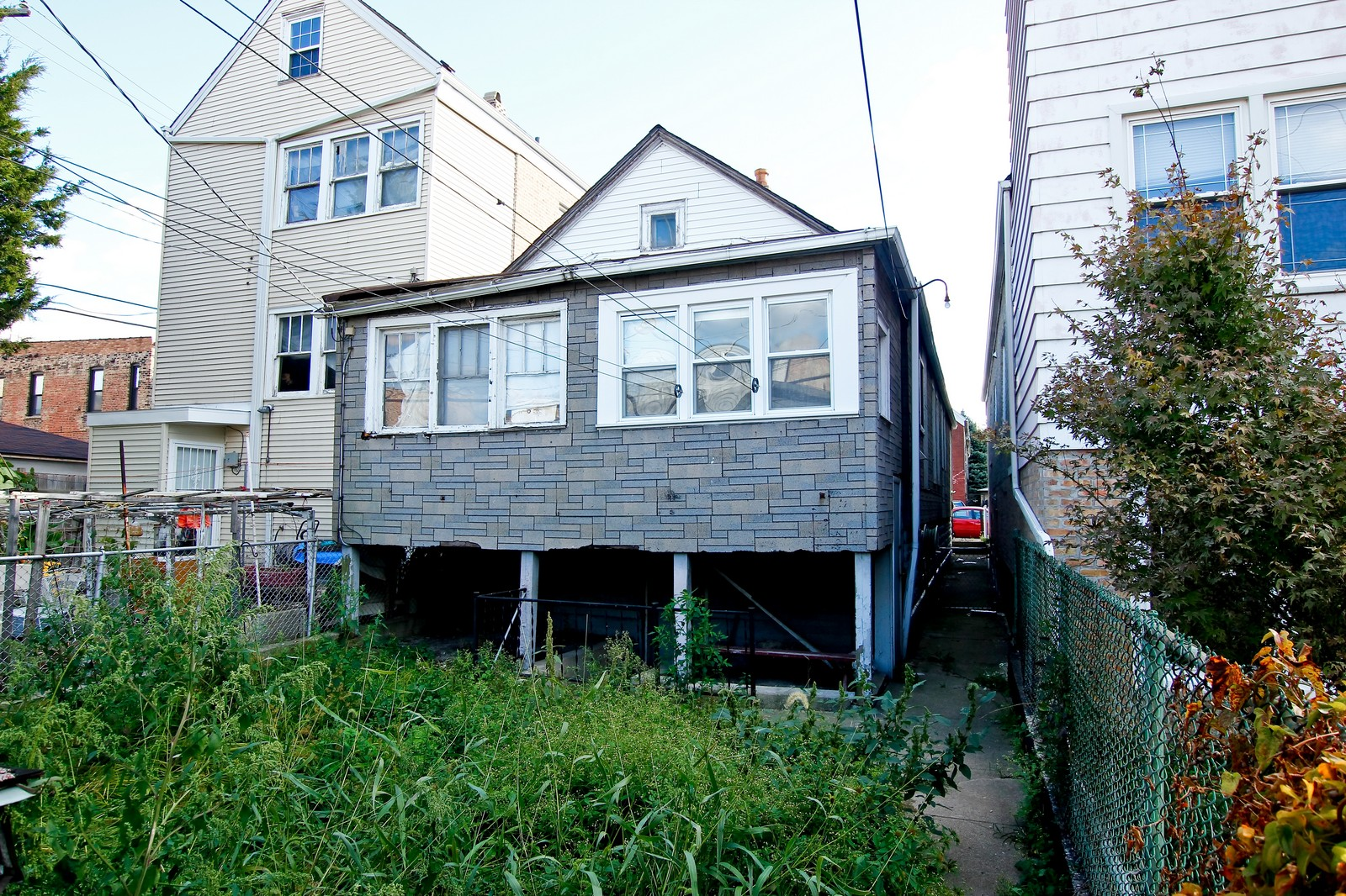 Real Estate Photography - 1014 W 31st St, Chicago, IL, 60608 - Rear View