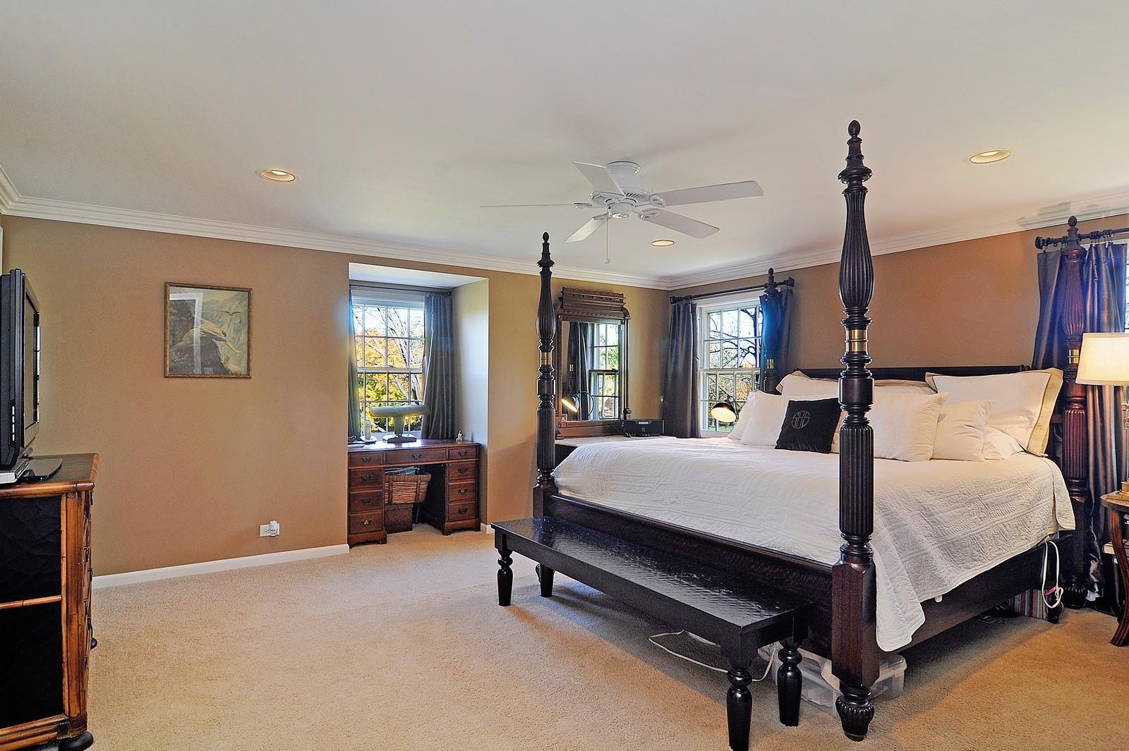 Real Estate Photography - 1723 Pheasant Trail Rd, Inverness, IL, 60067 - Master Bedroom