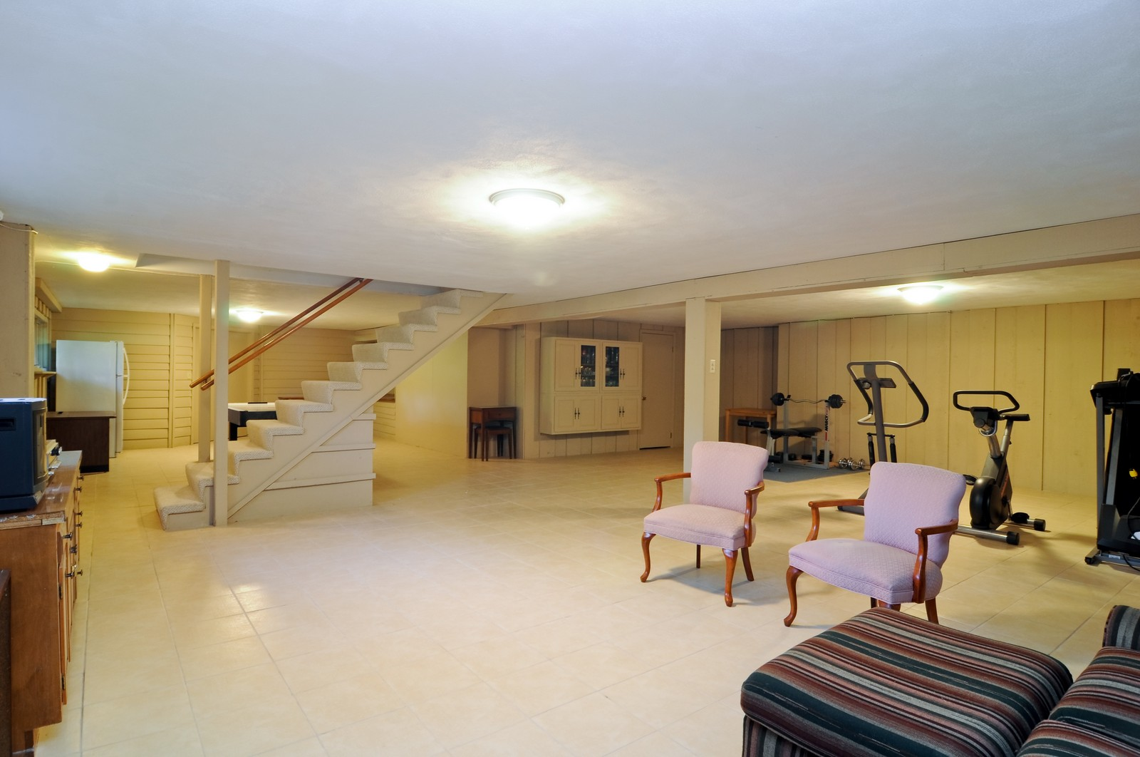 Real Estate Photography - 1070 Valley Lake Dr, Inverness, IL, 60067 - Basement