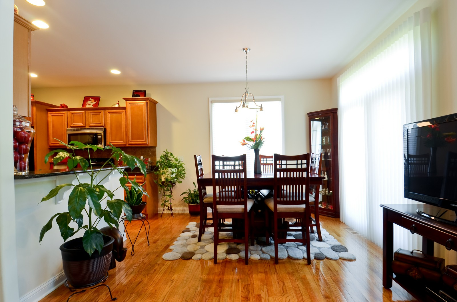 Real Estate Photography - 836 W Jameson Court, Carol Stream, IL, 60188 - Dining Room