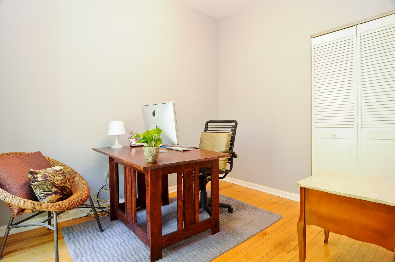 Real Estate Photography - 1851 N Whipple St, Unit 3, Chicago, IL, 60647 - 3rd Bedroom