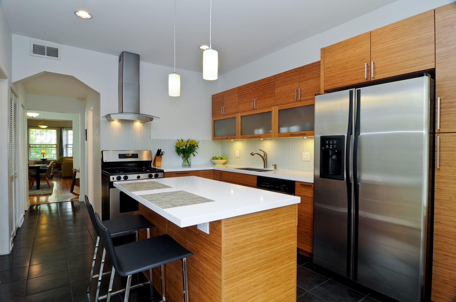 Real Estate Photography - 1851 N Whipple St, Unit 3, Chicago, IL, 60647 - Kitchen