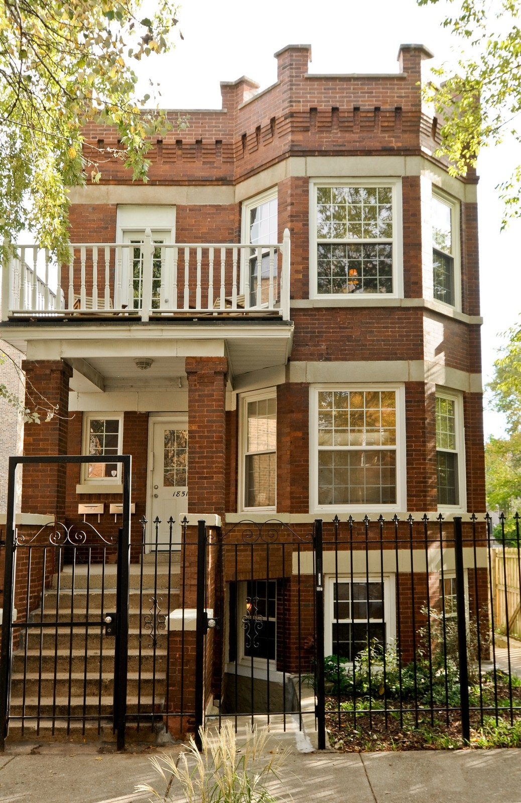 Real Estate Photography - 1851 N Whipple St, Unit 3, Chicago, IL, 60647 - Front View