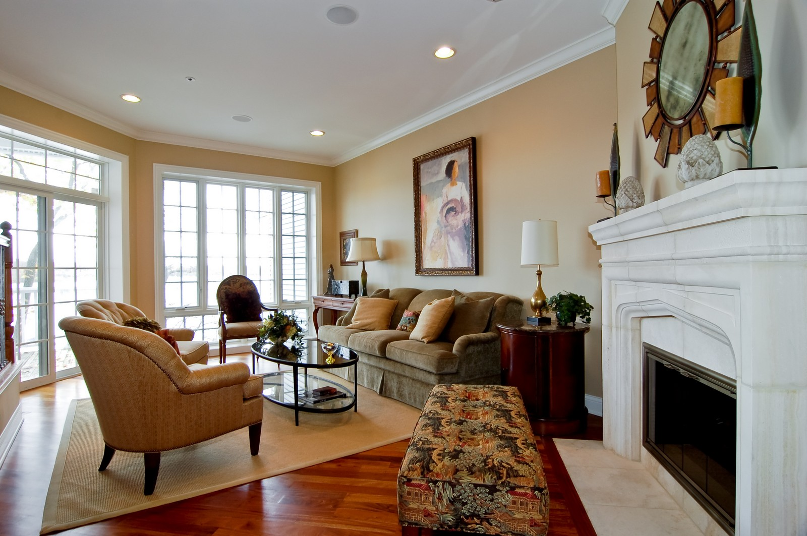 Real Estate Photography - 255 Sandy Point Ln, Lake Zurich, IL, 60047 - Living Room