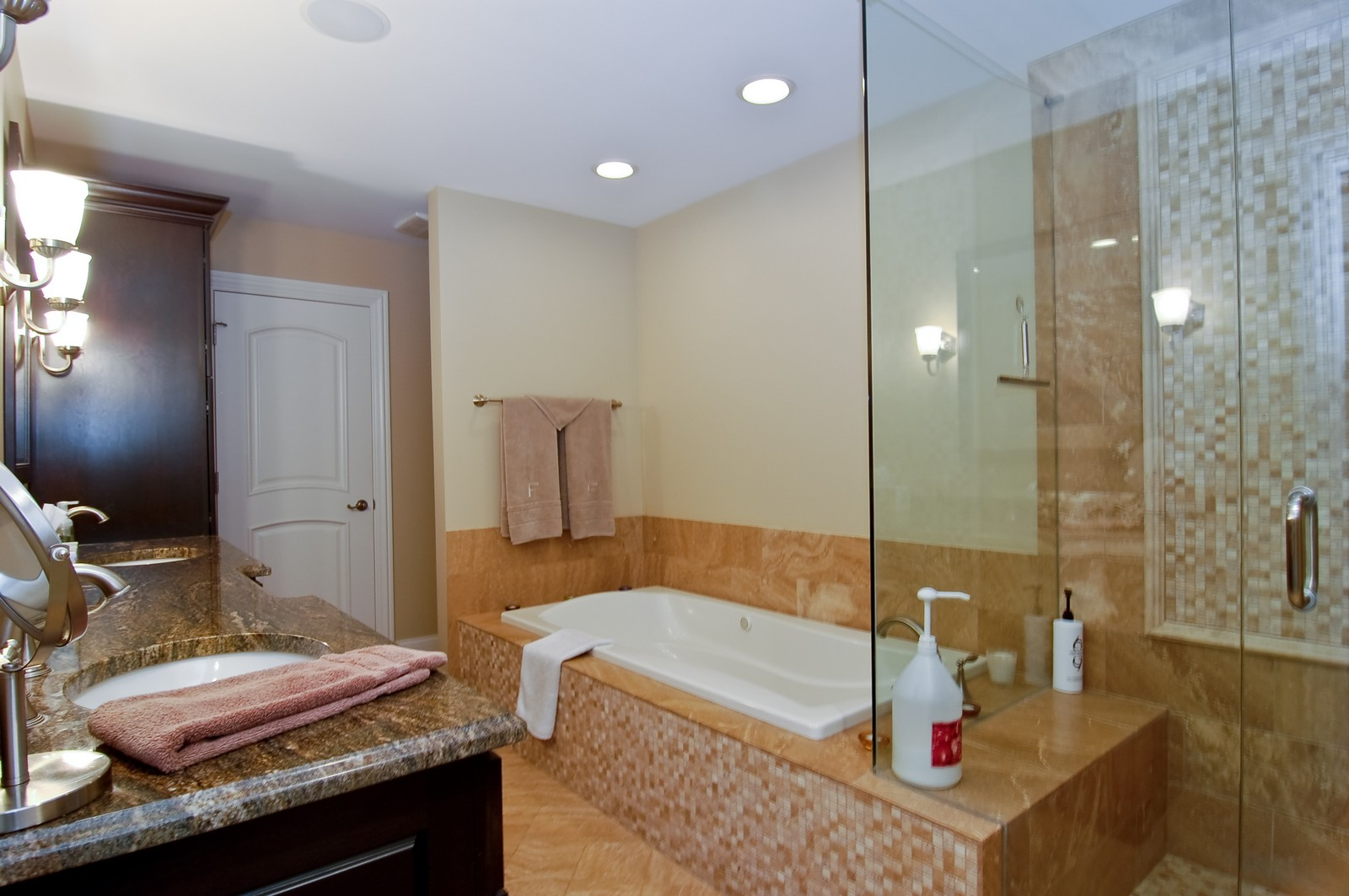 Real Estate Photography - 255 Sandy Point Ln, Lake Zurich, IL, 60047 - Master Bathroom