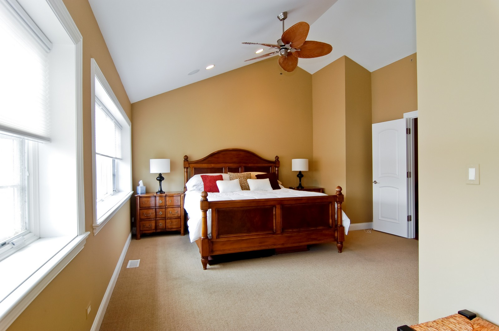 Real Estate Photography - 255 Sandy Point Ln, Lake Zurich, IL, 60047 - Master Bedroom