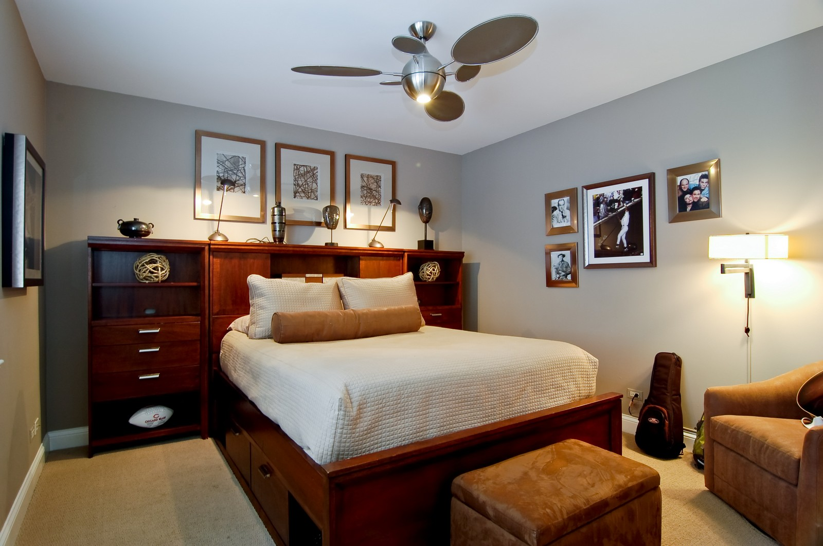 Real Estate Photography - 255 Sandy Point Ln, Lake Zurich, IL, 60047 - Bedroom