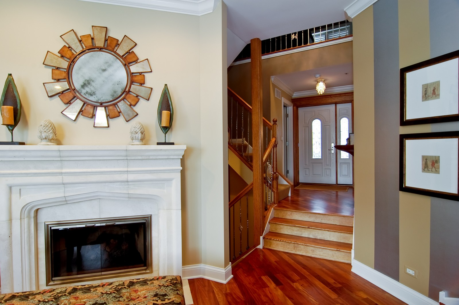 Real Estate Photography - 255 Sandy Point Ln, Lake Zurich, IL, 60047 - Foyer