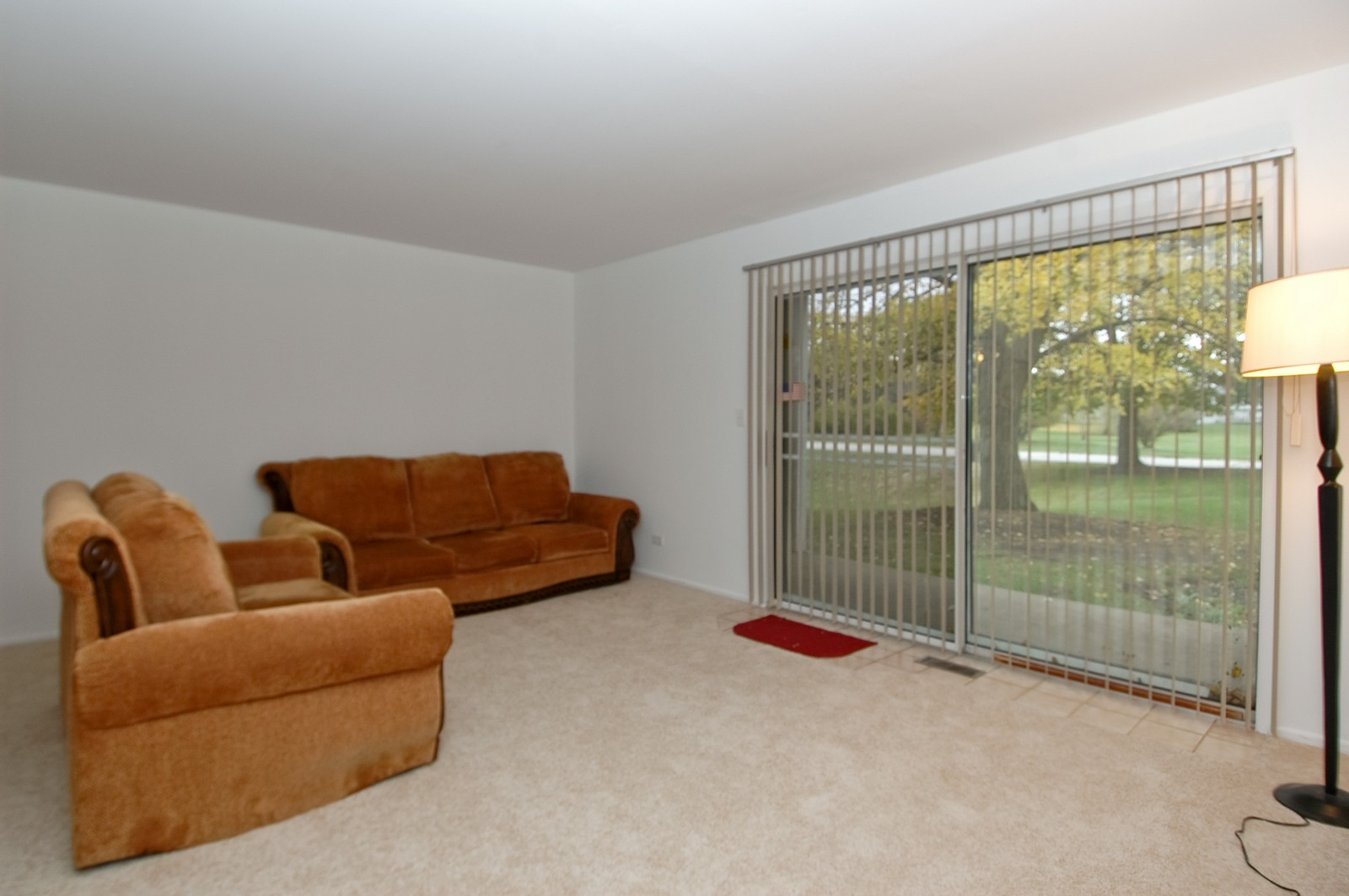 Real Estate Photography - 985 Golf Course Rd, Unit 2, Crystal Lake, IL, 60014 - Living Room