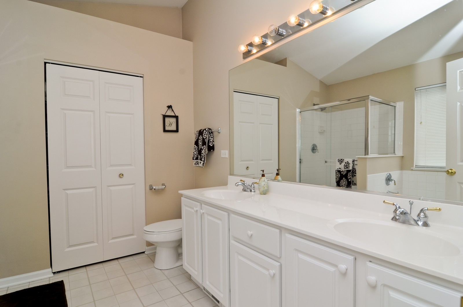 Real Estate Photography - 3461 Chadwick Lane, Lake in the Hills, IL, 60156 - Master Bathroom