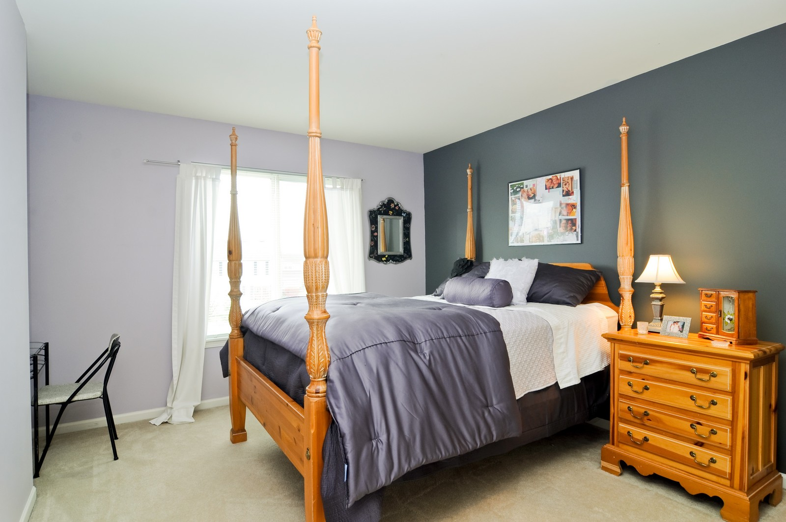 Real Estate Photography - 3461 Chadwick Lane, Lake in the Hills, IL, 60156 - 2nd Bedroom